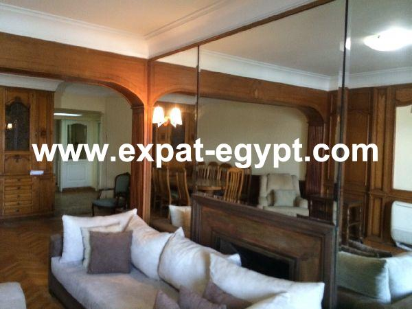 Over looking Nile apartment for sale in Zamalek, Cairo, Egypt