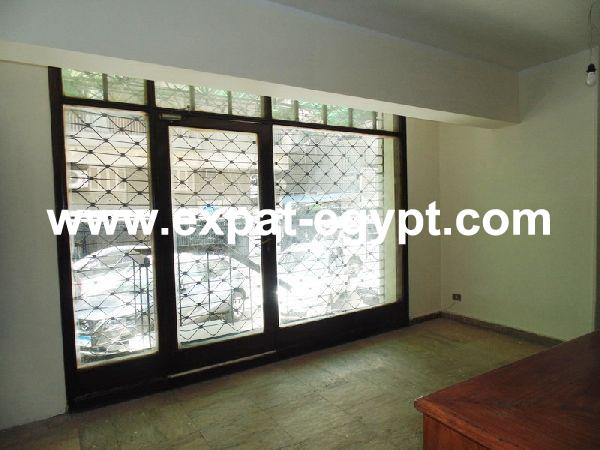 Office ground floor for rent in, Dokki, Giza, Egypt