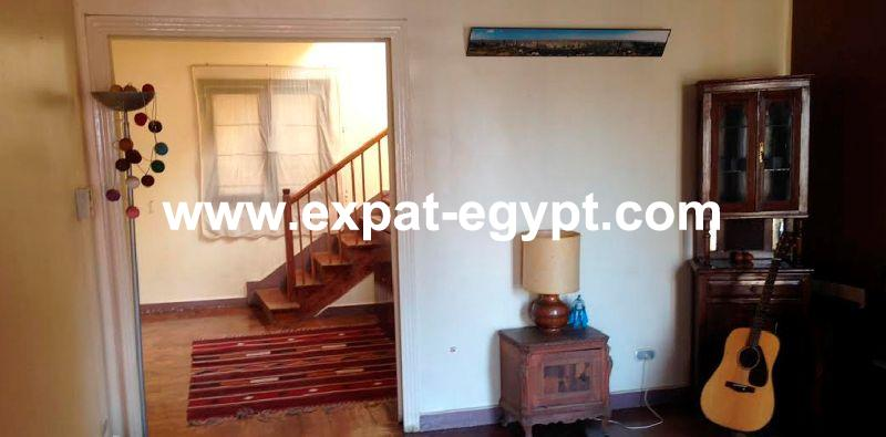 Duplex for rent in Garden City, Cairo, Egypt
