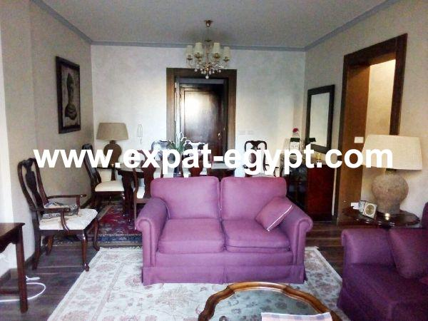 Apartment for rent in Rehab City, New Cairo, Egypt