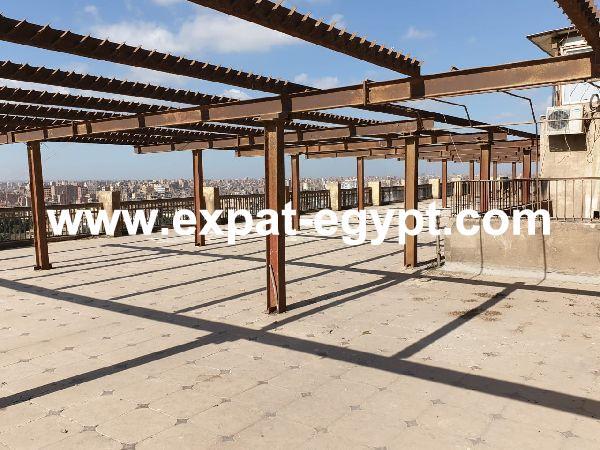 Penthouse for rent in Zamalek, Cairo, Egypt