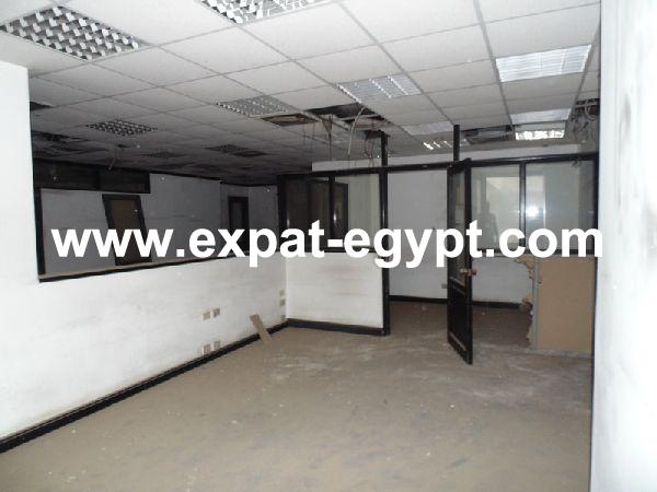 Administrative office for rent in Zamamlek, Cairo, Egypt