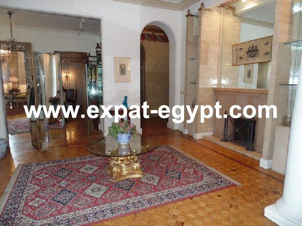 Apartment For Rent, 2 Bedrooms High Ceilings in Zamalek, Classic and Elegant