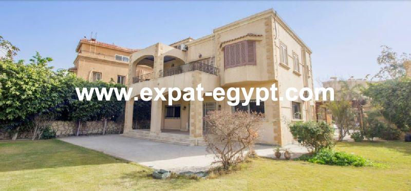 villa for rent in Al Gazira Gardens compound, New Cairo, egypt