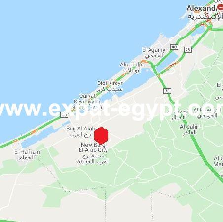 Land  for sale in New Borg El Arab City, Alexandria