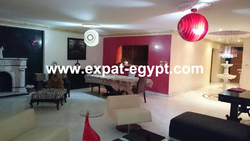 Apartment for rent in Corniche El Maadi, Cairo, Egypt