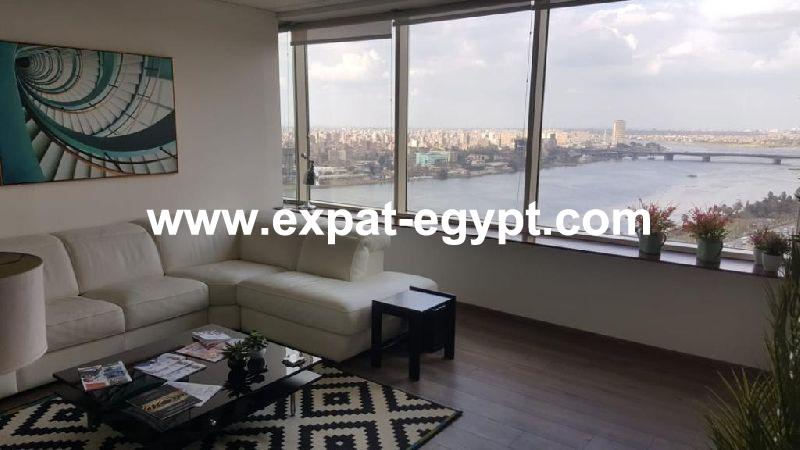 Overlooking Nile Office for rent in Cornish, Giza, Egypt