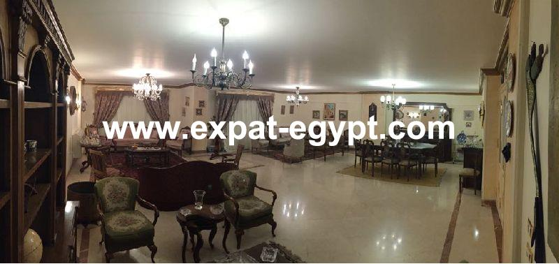 Nice Apartment overlooking calm garden for sale in Mohandesein, Giza, Egypt
