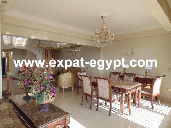 Apartment for rent in Zamalek with Nile Views