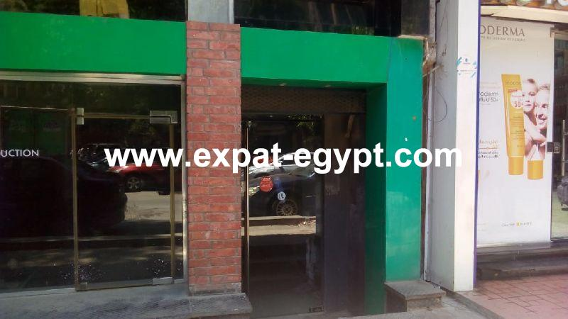 Restaurant for rent in Zamalek, Cairo, Egypt