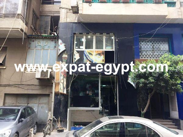 Commercial shop for sale in Zamalek, Cairo, Egypt