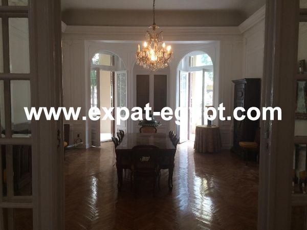 High Ceilings Apartment for Rent in Garden City, Cairo, Egypt