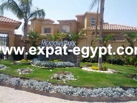 Town house in Meadows park compound for rent, sheikh Zayed, Egypt