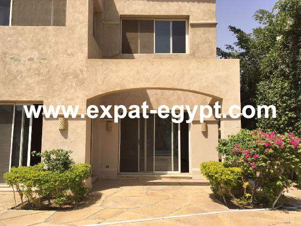 Villa for Rent in AL-Jazeera Compound , Sheikh Zayed City , Giza , Egypt .