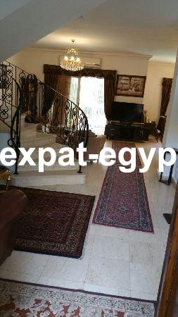 Villa for rent in Rehab City, Cairo, Egypt