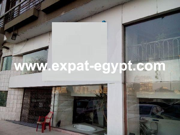 Commercial shop for rent in Baher El Azam, Giza, Egypt