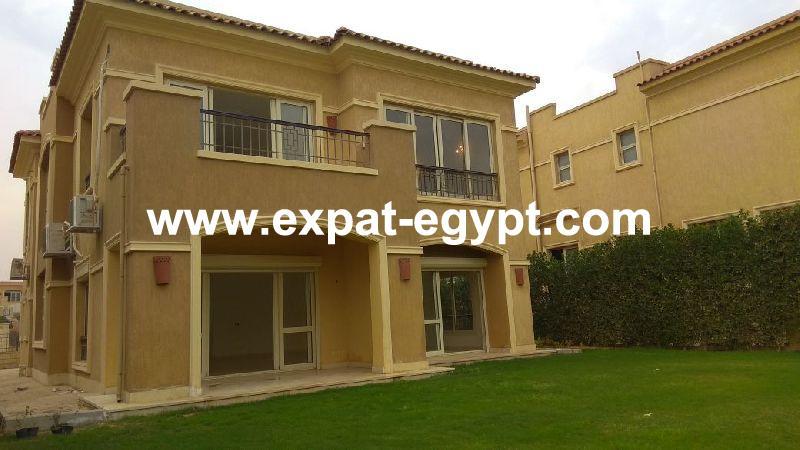 Villa for rent in Stone Park , New Cairo , Cairo , Egypt .
