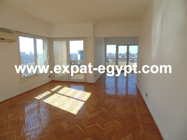 zamalek, Sunny  3 bedrooms with nile and Gezira views