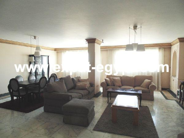Convenient Apartment for rent in Zamalek, Cairo, Egypt