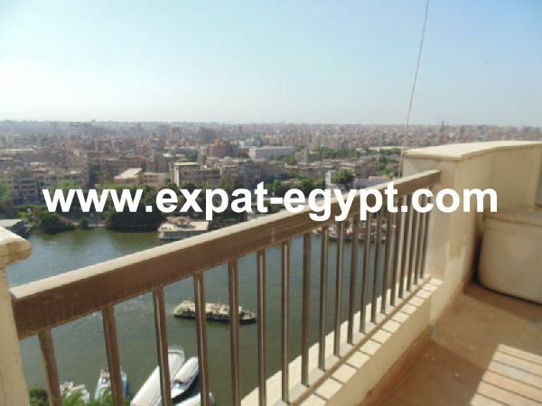 Duplex Amazing  Nile views for rent in Zamalek, Cairo, Egypt