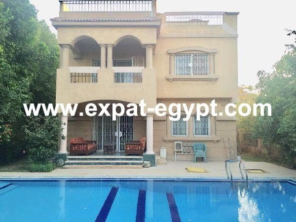 Fully furnished Villa in Dara Gardens compound, 6th of October, Giza, Egypt