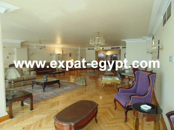 Luxury Apartment For Rent In Zamalek , Cairo , Egypt .