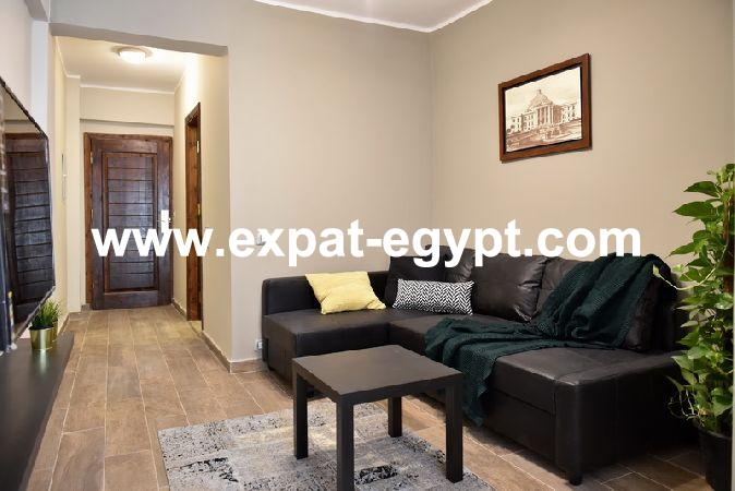 Two bedrooms apartment in zamalek for rent