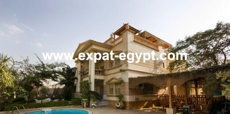 Villa for sale at Sheikh Zayed City, Giza, Egypt