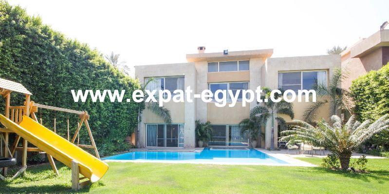 Villa for rent in Cairo - Alex Desert Road, Garana compound, Giza, Egypt