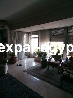 Overlooking Nile Apartment for rent in Dokki, Giza