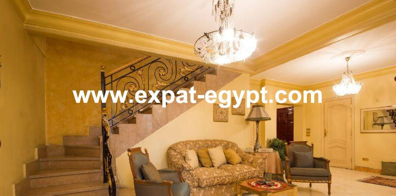 Duplex for rent in Agouza, Giza, Egypt