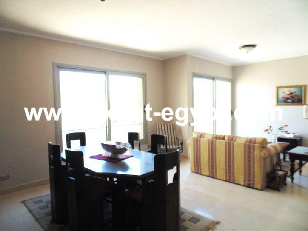 Fully furnished apartment for rent in Palm Parks compound, 6th of October,
