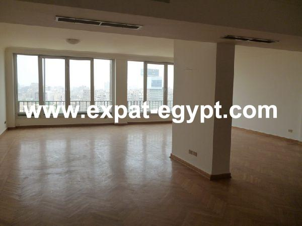 Zamalek  Sunny Large 3 Bedrooms with Nile Views For Rent