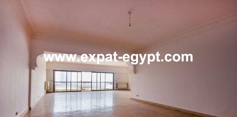 Opportunity! Duplex overlooking Nile for sale in Manyal, Cairo, Egypt