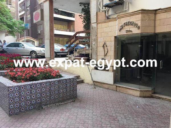 Shop for rent in Mohandsein, Giza, Egypt