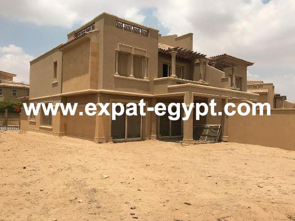 Twin Villa for sale in Meadows park compound, Sheikh Zayed, Giza, Egypt