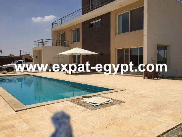 Stand alone villa in Cairo Alex desert Road, Ofok Compound, Giza, Egypt