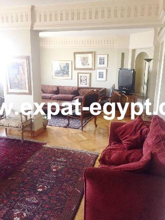 Duplex for rent in zamalek, Cairo, Egypt