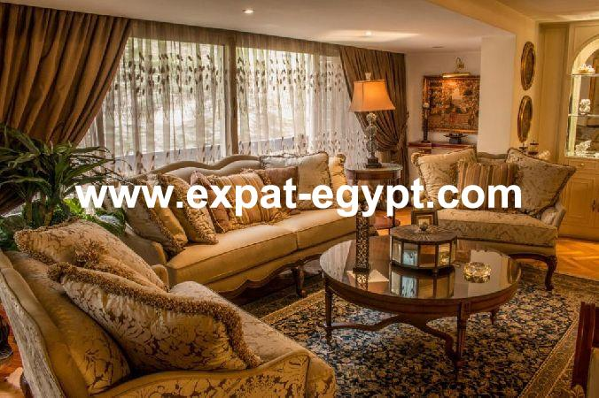 Duplex for rent in Zamalek , Cairo, Egypt