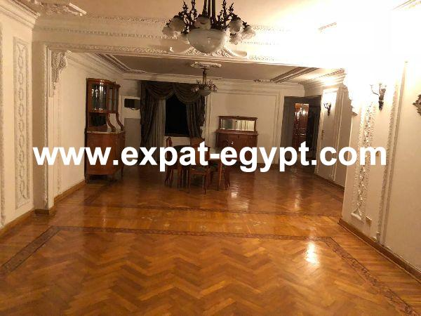 Elegant style Apartment for rent in Zamalek, Cairo, Egypt