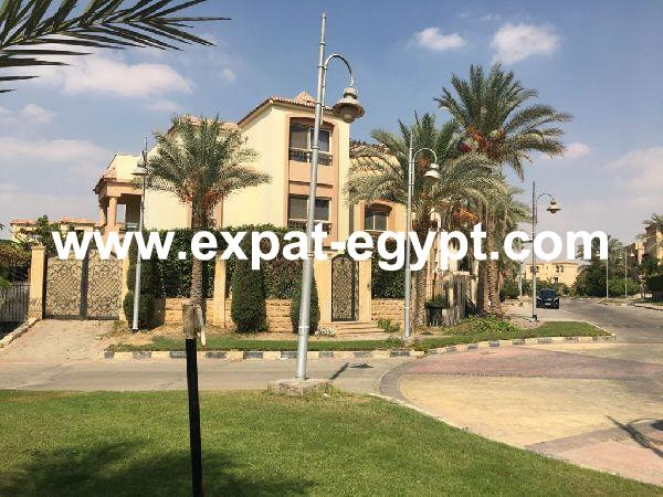 For rent fully furnished villa super lux in Katameya residence, New Cairo