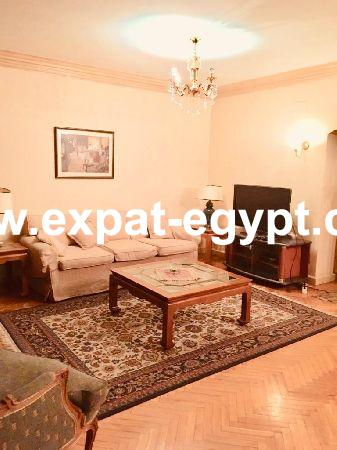 Furnished apartment for rent in mohandeseen, giza, egypt