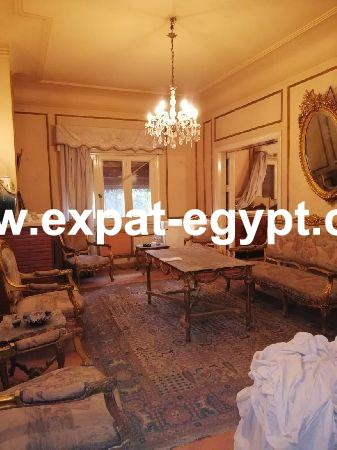 Luxurious high ceiling apartment for sale in Zamalek, Cairo, Egypt