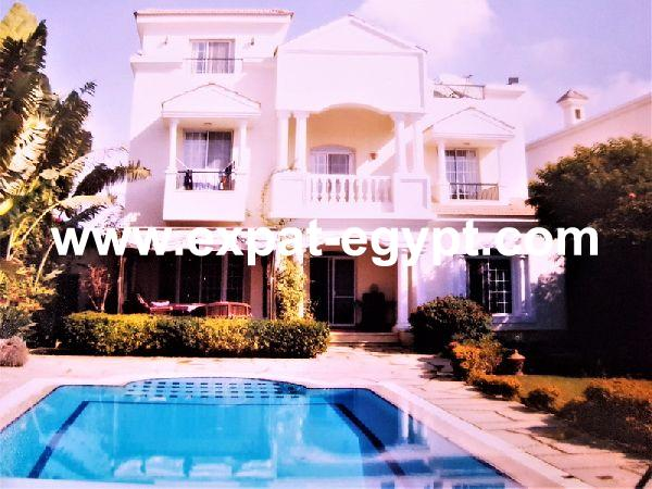 Beautiful Villa for rent in El-Rawda Compound, 6th of October City, Egypt