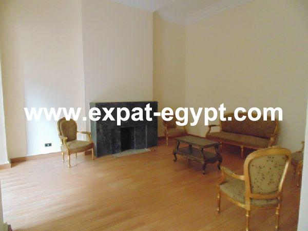 High ceiling apartment for sale in Zamalek, Cairo, Egypt