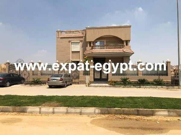Villa for Sale in El Bostan Compound, 6th October, Cairo, Egypt