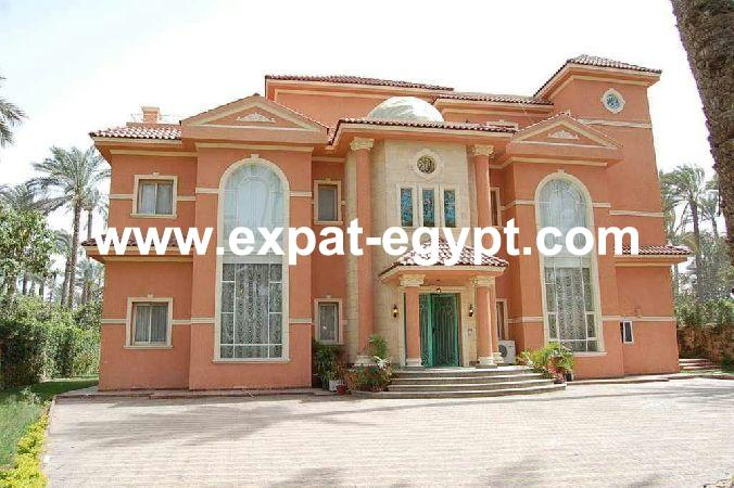 Villa stand alone for rent in Garana compound Cairo- Alex desert road, Egyp