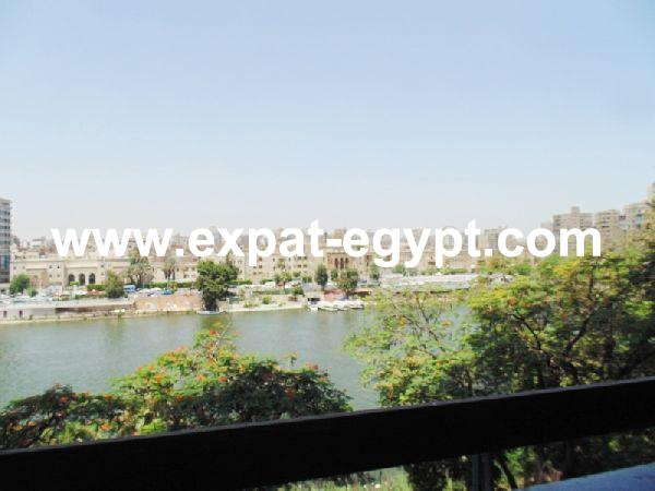Apartment with Nile views for Rent in Zamalek, Cairo Egypt