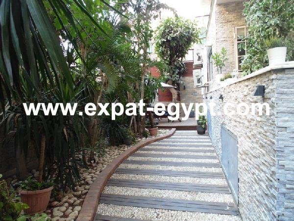 Ground Floor Apartment for Rent  in Zamalek, Cairo, Egypt