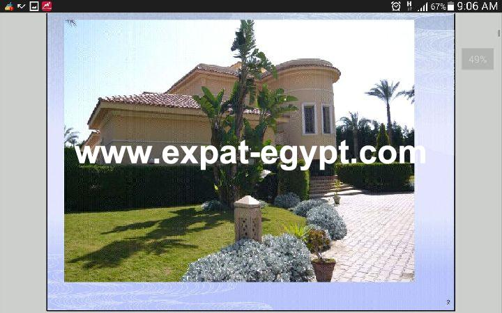 Villa for sale in Mansoreya Compound Cairo-Alex Desert Road